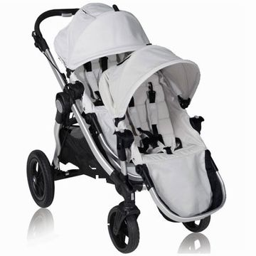 Baby Jogger City Select Stroller with Second Seat Kit in Diamond....discontinued color = $200 cheaper!