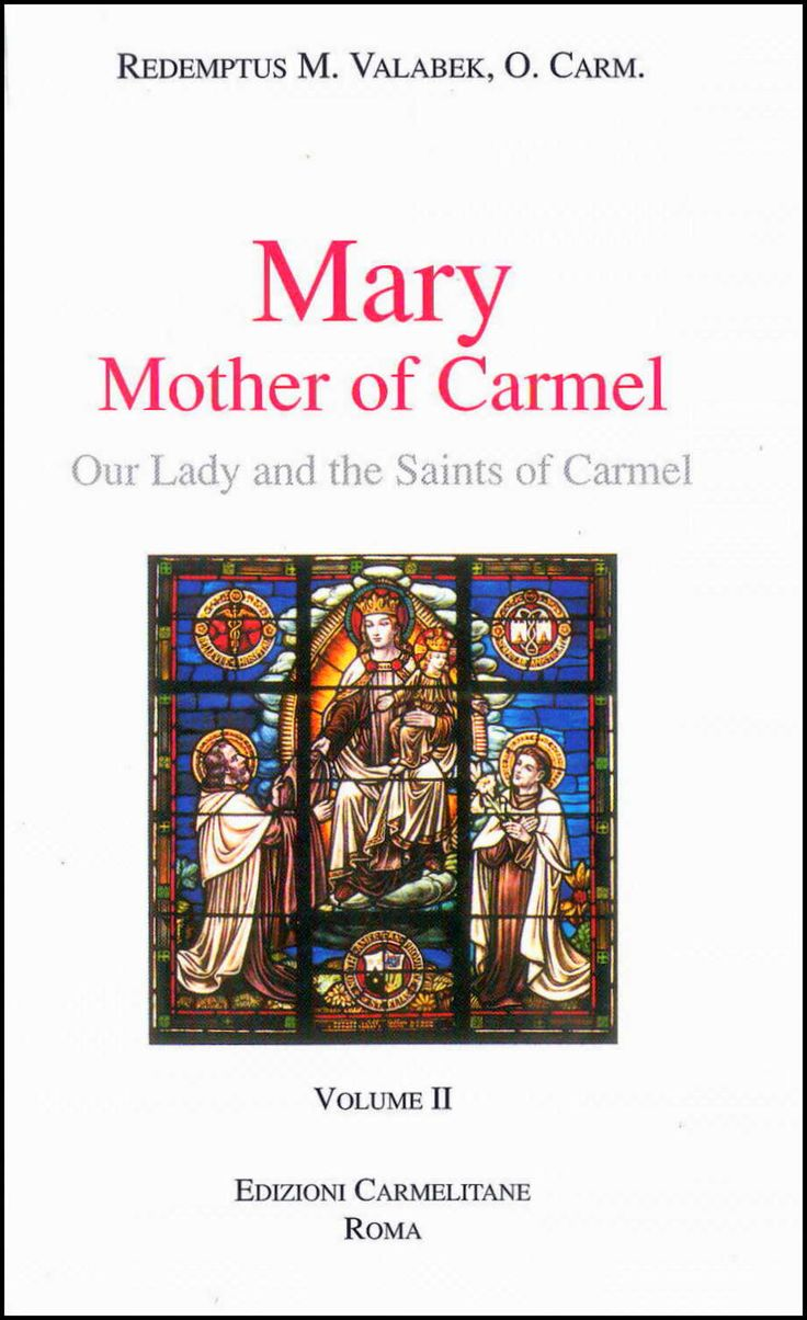 Fr. Valabek continues his reflections from volume I, looking at the Marian experience in Carmel throughout the ages. In these pages, he illustrates how various Carmelites have accented certain aspects of Marian spirituality, and the impact these had on our understanding the Mother of Jesus. The Scapular devotion and relationship between Mary and contemplative prayer