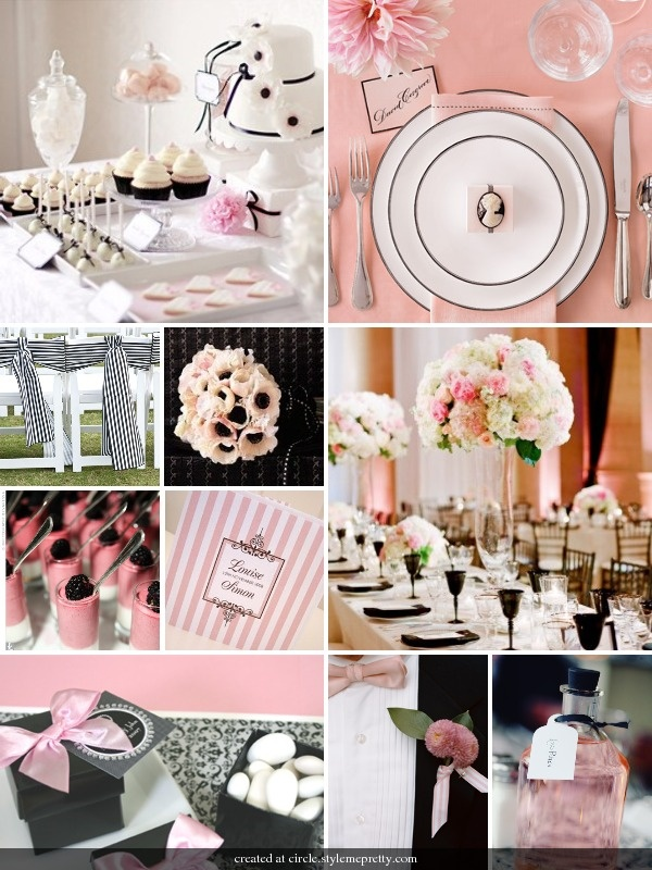 Black And Pink WEDDING LOVE IN BLACK PINK Pinterest Black