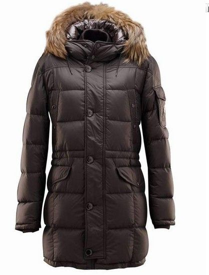 France MONCLER down jacket brown male money Online Store