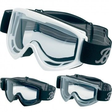 Biltwell Mens Street Riding Cycle Protection Moto Goggles