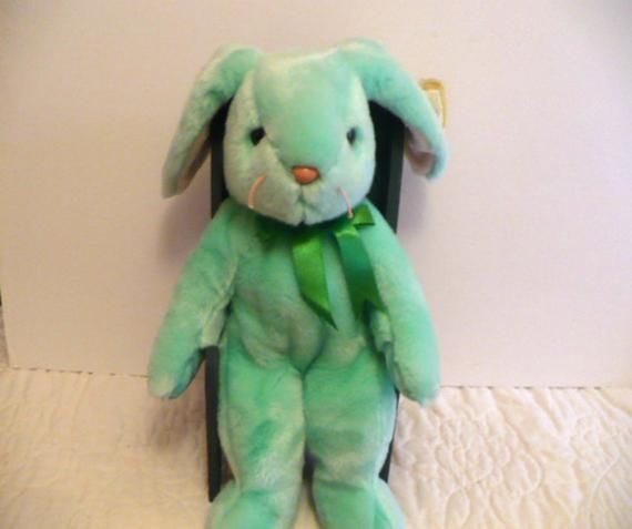 a476a7fb374 Large Green Rabbit Stuffed Animal