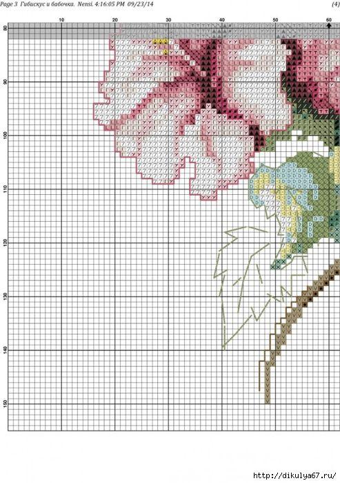 схема вышивки крестом - Самое интересное в блогах