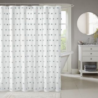 Shop for Madison Park Lauren White Shower Curtain. Free Shipping on orders over $45 at Overstock.com - Your Online Bath