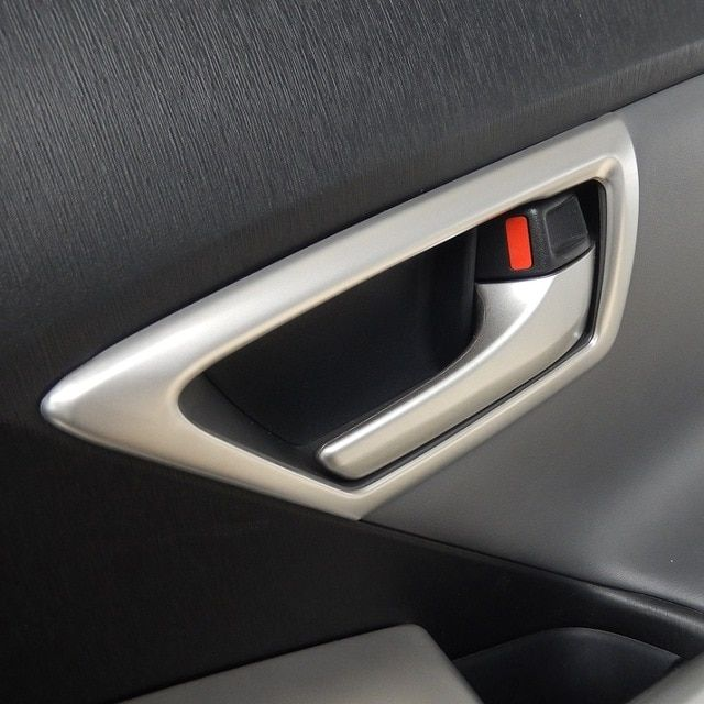 Stainless Steel Inner Interior Inside Door Handle Covers Frame Trim For Toyota Prius 30 Zvw30 2010 2011 2012 2013 2014 2 Toyota Prius Door Handles Inside Doors