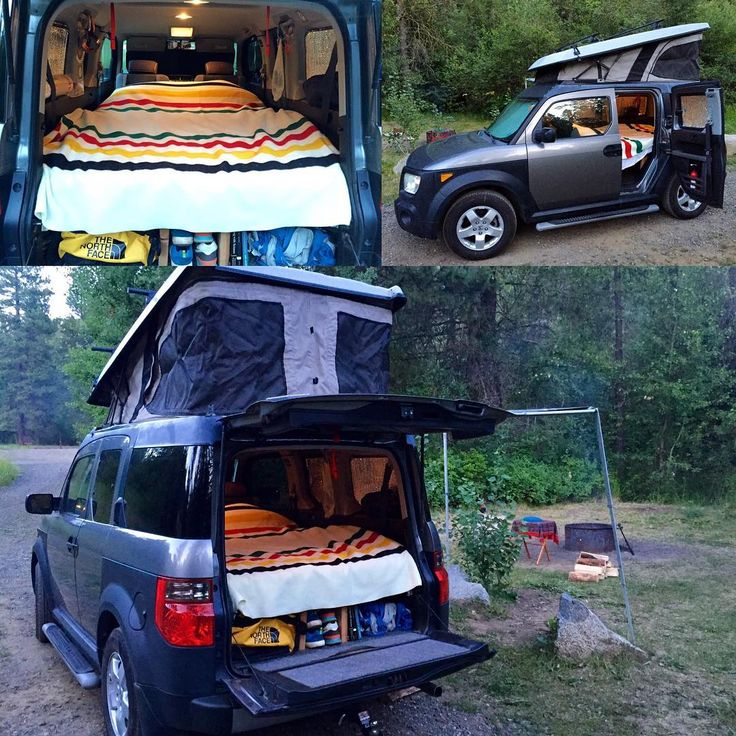 173 Best Images About Honda Element Camper On Pinterest