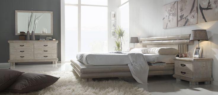 Dormitorio en Bambú,en la foto modelo Tsu