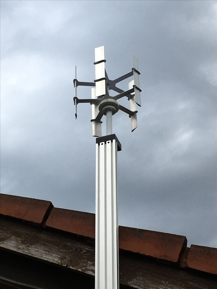 Éolienne à axe vertical - VAWT - vertical axis wind turbine