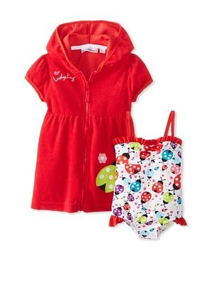 62% OFF Wippette Baby-Girl Ladybug Cover Set (Cherry)