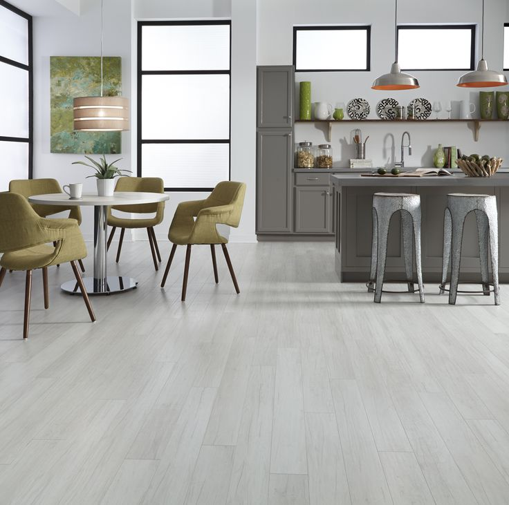 Whitewashed Floors Like Alpine Oak Create A Light, Bright Feel To Open Up  Any Space