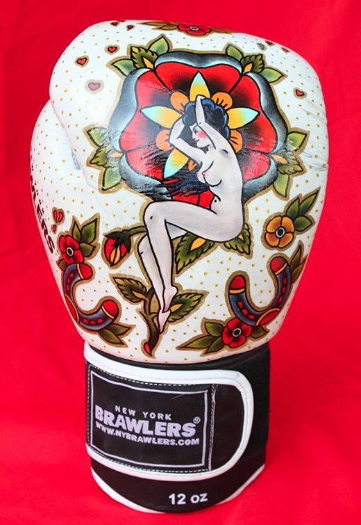 OH MY DEAR LORD!!! I need these in my life!!!!!!!!!!!  {Tattoo Boxing Gloves by Sara Antoinette Martin}
