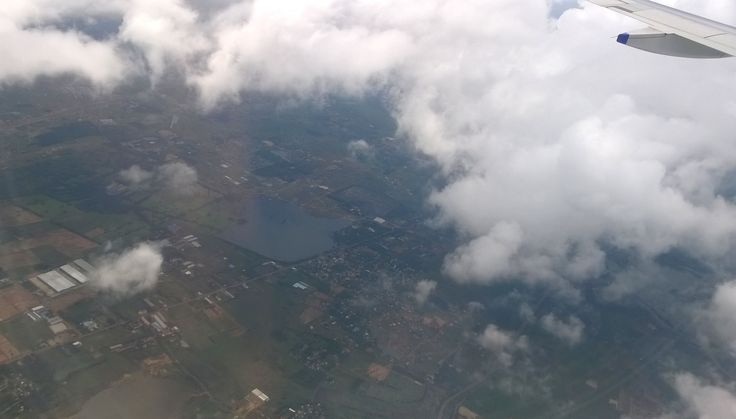 #flight #aerialview #city #clouds  From Chennai to Bombay
