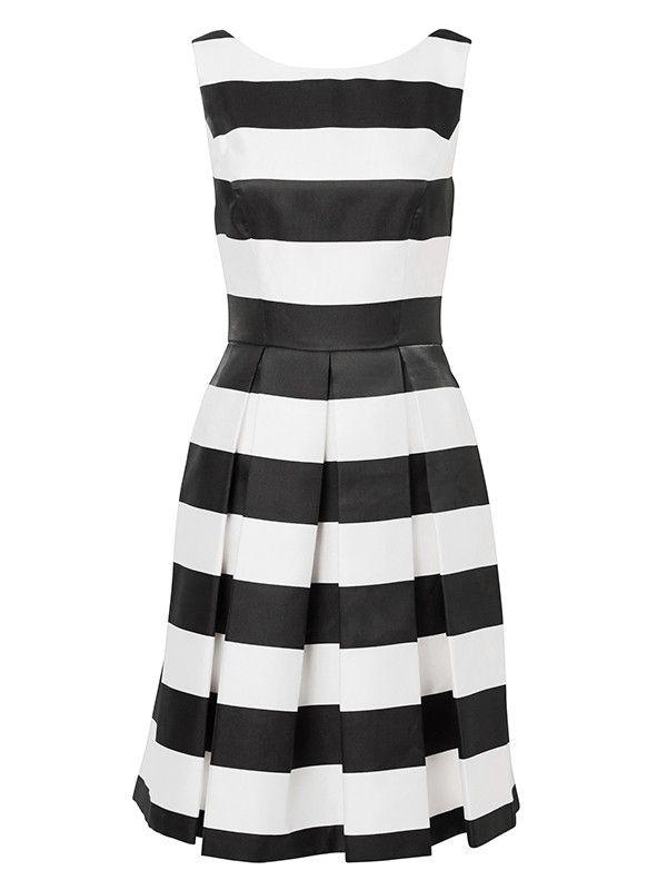 Review New York Stripe Dress