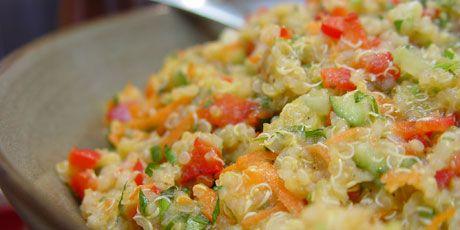 Quinoa Colour Salad - Chef Michael Smith