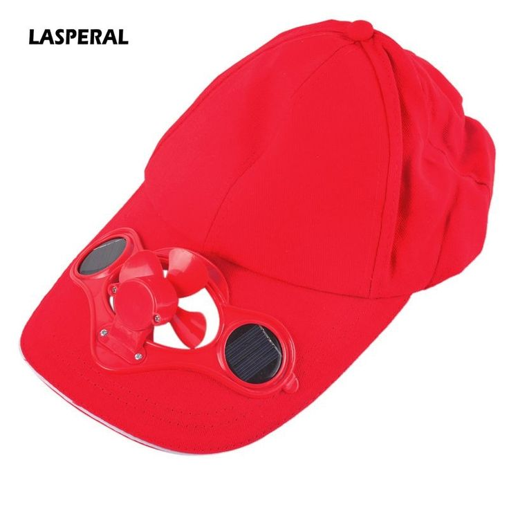 4.45$  Watch here - http://ali0ud.shopchina.info/go.php?t=32793736664 - LASPERAL New Summer Adjustable Sunshade Caps Novelty Sun Solar Power Cool Fan For Cycling Hat Golf Baseball Running Caps 4.45$ #aliexpresschina