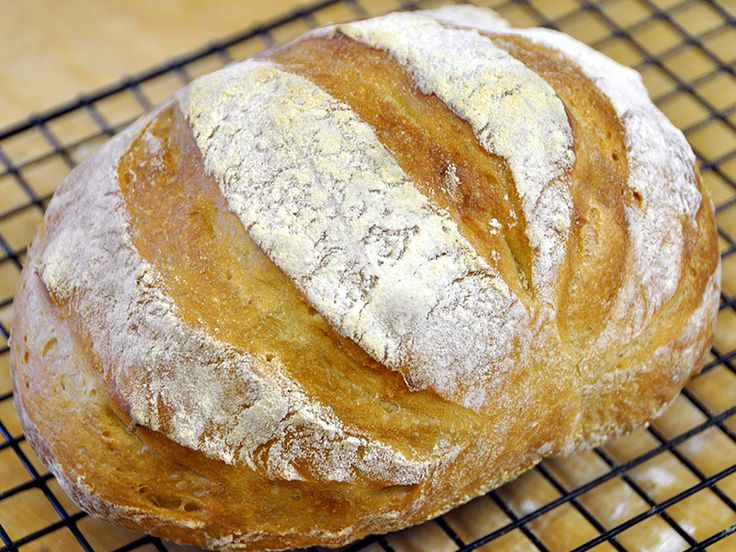 La strepitosa Ricetta del Pane Artigianale Fatto in casa in 5 Minuti al giorno. Un pane casereccio buonissimo, semplicissimo che sembra quello comprato.