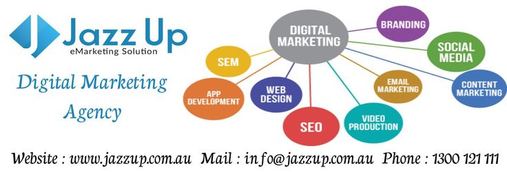 Jazz Up Australia digital media and provides IT solutions to companies of various sectors including individual, small, medium and large business entities. Our services include SEO, SMM, Content Writing, Mobile Application Development, Graphic designing, and other Marketing Tools. Enquire now.  Website : www.jazzup.com.au Mail : info@jazzup.com.au Phone : 1300 121 111   #digitalmarketing #seo #smm  #content #graphic #marketing #service #onlineshop #ITsolution