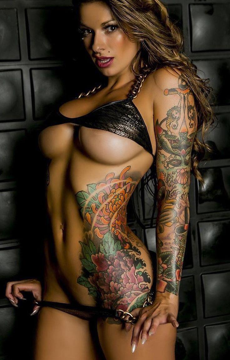 Naked tattoo models