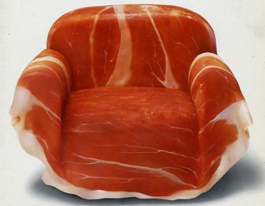 Armando Testa, Meat Chair, 1978