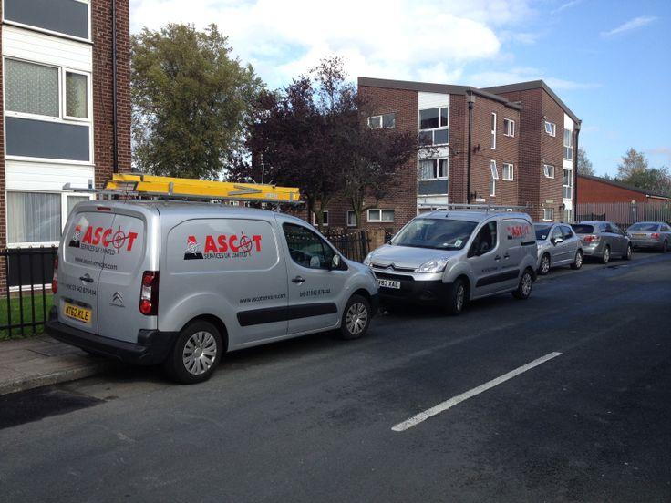 Ascot Services UK Fleet Vehicle Graphics