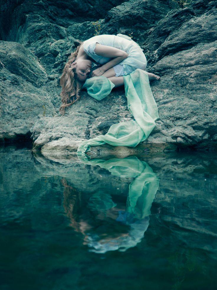 """Fairytale"" — Photographer: Luigi Esposito -The Blood ToothModel: Elena Chiappini"