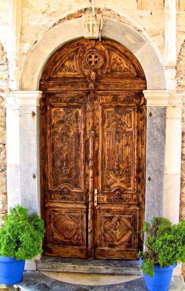 Samos, Greece door