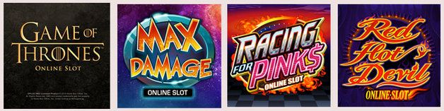 Try #MaxDamage, #GameofThrones, #RedHotDevil & #RacingforPinks #slots at #RoyalVegasCasino and enjoy #freespins features