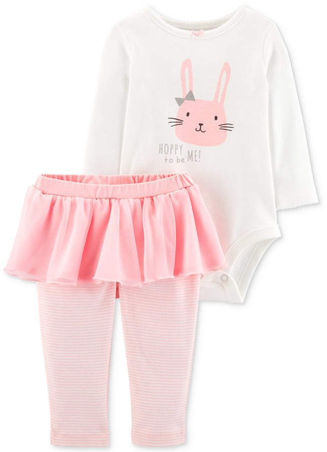 2 Pc Bodysuit with Tutu and Pants