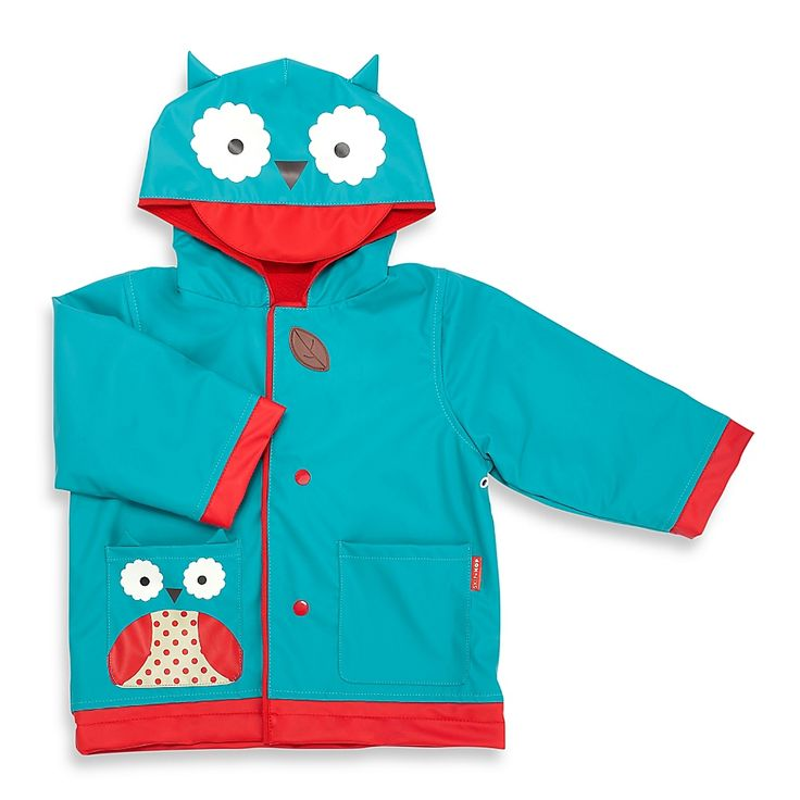 SKIP*HOP® Zoo Owl Raincoat in Blue