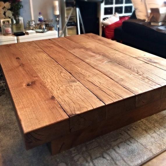 Oak Sleeper Coffee Table Coffee Table Sleeper Table Oak Coffee