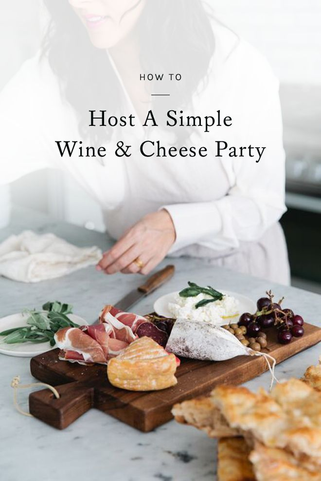 with a seemingly endless number of wines and cheeses to choose from, and easy snacks to pair them with, wine and cheese nights are as fool-proof as hosting gets. click for a few tips for planning a simple and stress-free wine and cheese party.