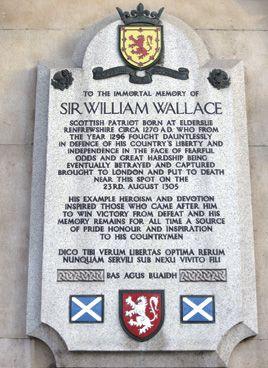 ウィリアム・ウォレスの慰霊碑