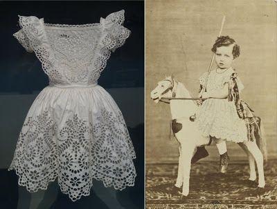 Les Petites Mains, histoire de mode enfantine: Mode enfantine et luxe (5) – Le petit enfant en robe