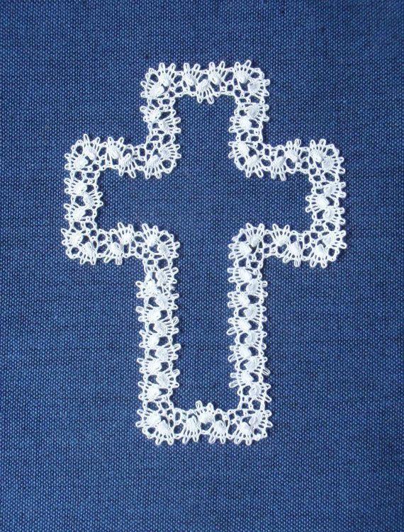 Pattern for Joe's Cross bobbin lace by sharonscothern on Etsy, $5.00