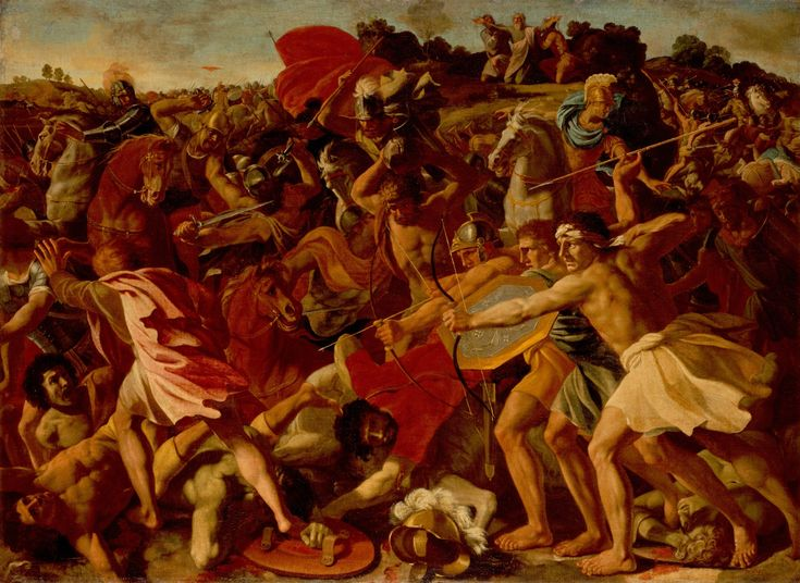 Joshua Fights Amalek. Nicolas Poussin 1593/94 – 1665