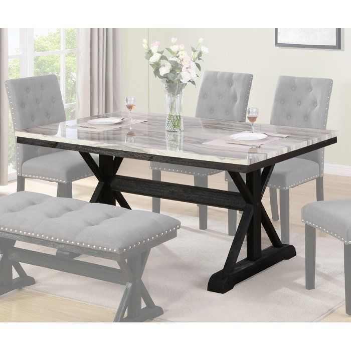 Laurene Dining Table Dining Table Black Dining Room Table