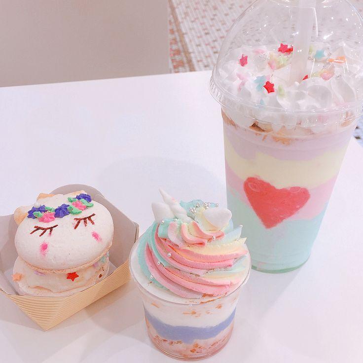 夢かわいかった かわいい=sweet そう、つまりは甘すぎた_:(´ཀ`」 ∠): #tokyo#渋谷ヒカリエ#monarchoflondon#ユニコーンフラペチーノ #ヨーグルト味#ユニコーンアイス#ユニコーンカップケーキ#一角獣#ゆめかわいい#ユニコーンポーズ#デ部#デブ活#うわーーん#ミーハー#ミーハー女子#気配を消して#若い子に混ざる私