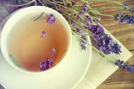 Benefits of lavender tea include relaxing the body, reducing muscle spasms, promoting healthy digestion, aiding sleep, eliminating inflammation, balancing mood when low or down, healing skin, and soothing pain, among many others. Boil 8 oz. of water.  Place 4 tsp. of fresh or dried lavender buds into a tea ball or sachet. Place the tea ball and water into a teacup. Let steep for 10 minutes. Adding mint leaf creates a deliciously refreshing blend that can be served either hot or as ice tea.