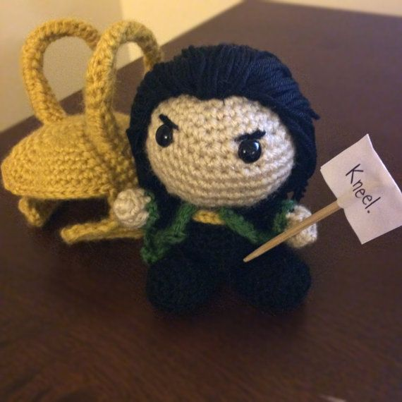 Its Loki of Asgard, and he is burdened with glorious purpose! Take home this…