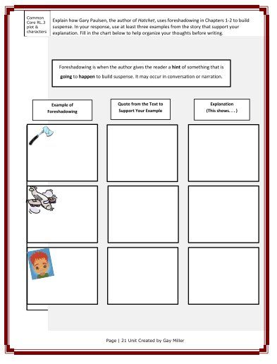 Printables Hatchet Worksheets 1000 ideas about hatchet activities on pinterest book free teaching resources for by gary paulsen