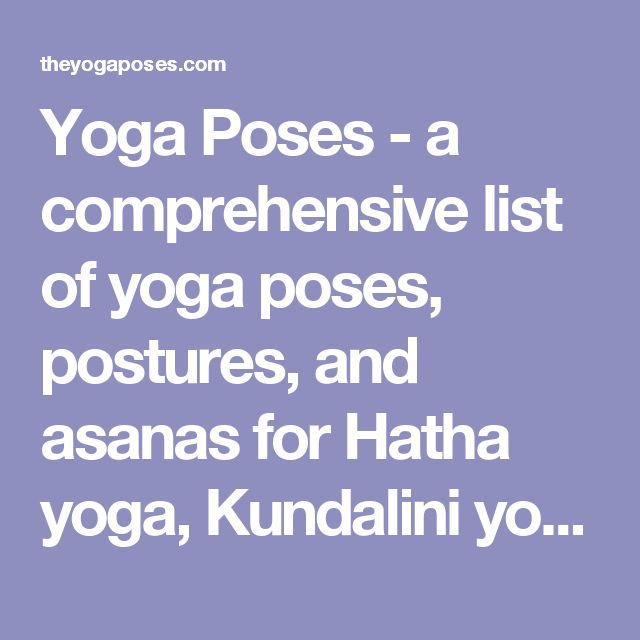 The 25+ Best Yoga Poses Names Ideas On Pinterest