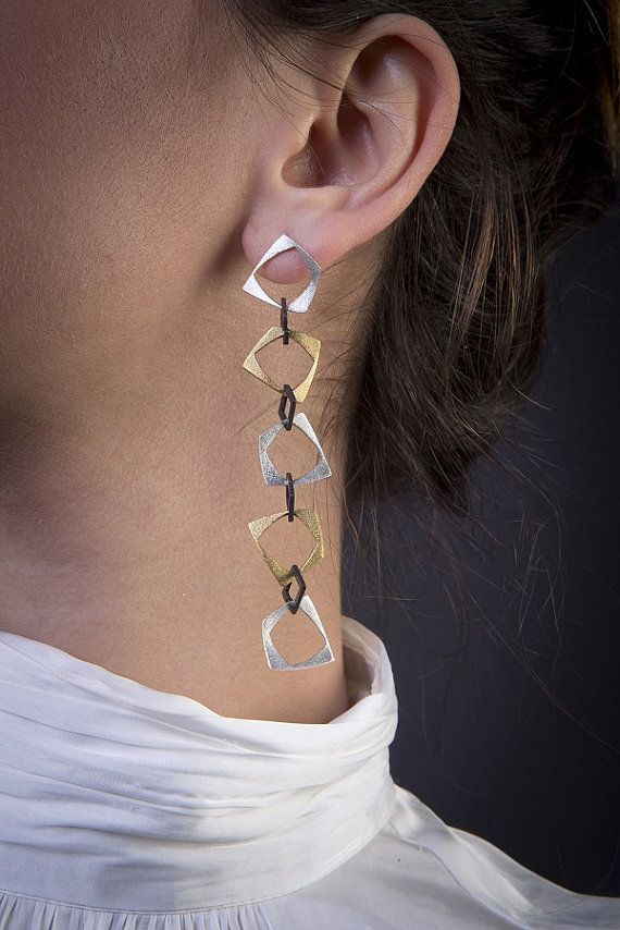 Geometrical Collection5 small squares of by PapelLuxuryJewelry