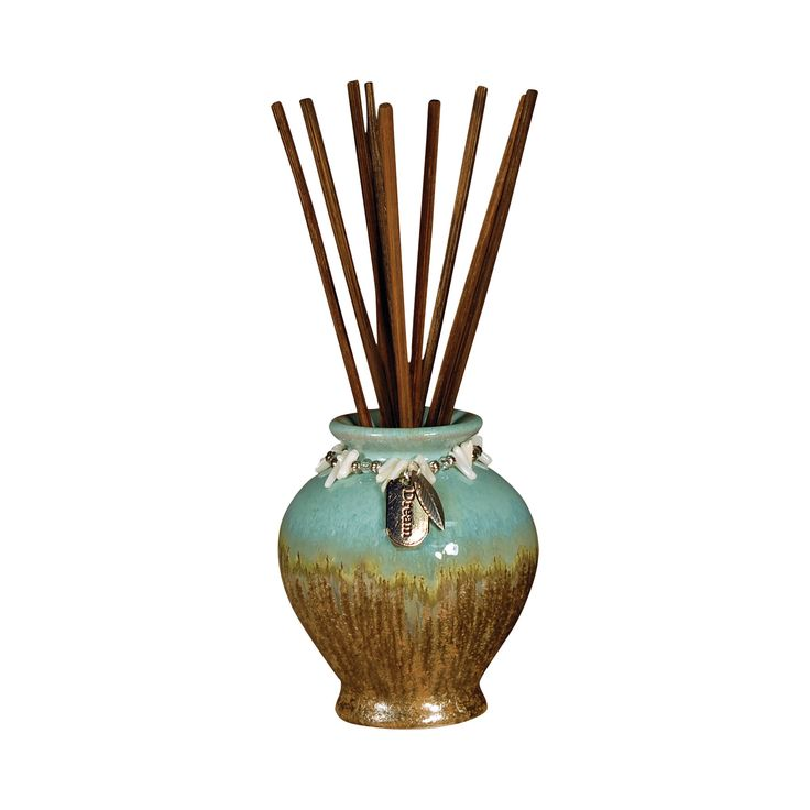 Pomeroy POM-703713 Dream Collection Turquoise,Brown Finish Diffusers/Incense