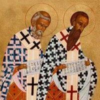 Santos Basilio Magno y Gregorio Nacianceno
