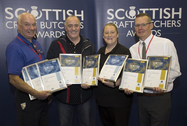 A north-east butcher has skewered the competition to claim top prizes for their kebabs and chicken in a national competition. Bruce of the Broch scooped four gold awards at the Scottish Craft Butchers Awards, which were presented at the Scottish Meat Trade Fair in Perth. The Broad Street butcher was praised for their meat kebab …
