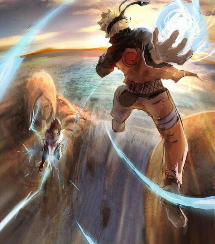 Vinculos-Sasuke vs Naruto
