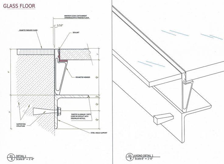 glass floor details
