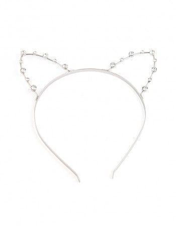 Opaska Diamond #paniKOTA #koty #kociara #kocierzeczy #opaska #wieczórpanieński #przebraniekot