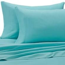 Dorm Benzoyl Peroxide-Resistant Microfiber Twin XL Sheet Set in Teal