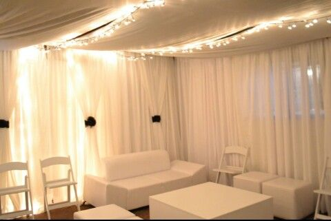 Transforming a garage to a Chill out Lounge for a 30th birthday party... with Decodacious Events decor...Cape Town